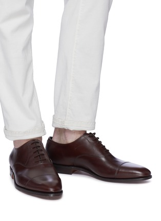 Figure View - Click To Enlarge - JOHN LOBB - 'City II' leather Oxfords