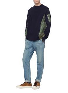 Sacai Bomber panel sweatshirt