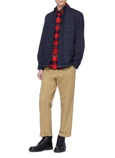 Sacai Padded shirt jacket