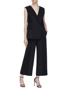 Dion Lee Asymmetric panelled sleeveless jumpsuit
