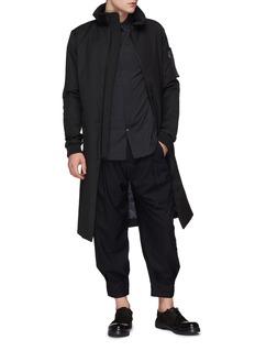 DEVOA Stripe wool pants