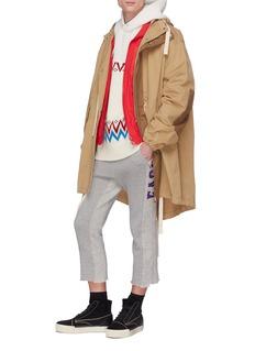 FACETASM Chest pocket track jacket