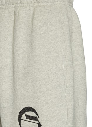 Detail View - Click To Enlarge - ADAPTATION - 'City of Angels' slogan print sweatpants