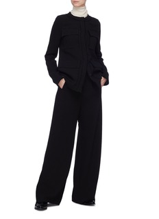 Ms MIN Wool wide leg pants