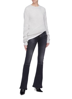 Ben Taverniti Unravel Project  Lace-up flared jeans