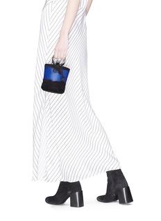 Simon Miller 'Bonsai 15cm' paint stroke leather bucket bag