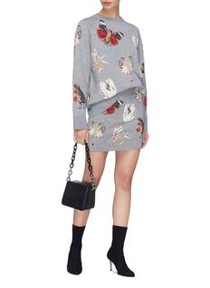Alexander McQueen 'Gothic Fairytale' fairy intarsia knit skirt