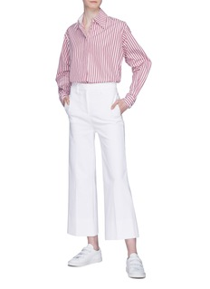 VICTORIA, VICTORIA BECKHAM Patch pocket wide leg pants