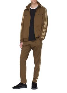 adidas x NEIGHBORHOOD Logo embroidered 3-Stripes sleeve twill track jacket