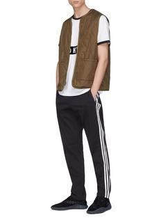 adidas x NEIGHBORHOOD 3-Stripes outseam pintucked twill track pants