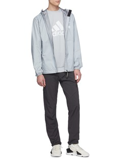 adidas x UNDEFEATED Logo print Climalite® sweatshirt
