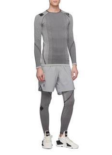adidas X UNDEFEATED Alphaskin knit performance leggings