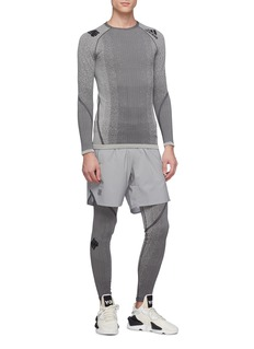 adidas x UNDEFEATED Alphaskin knit performance sweatshirt