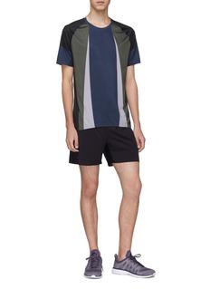 Isaora 'Versa' 5'' perforated outseam running shorts