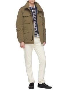 DENHAM 'Trecco' retractable hood padded shirt jacket