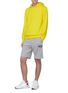 Y-3 Logo print sweat shorts