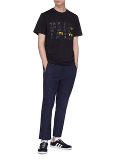 Y-3 Slogan print T-shirt