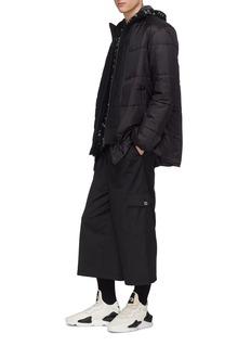 Y-3 Patchwork Primaloft® puffer jacket