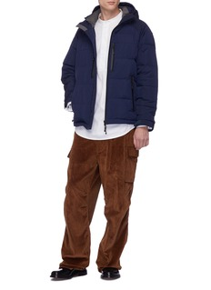 meanswhile Hooded Primaloft® Gold taffeta down puffer jacket