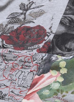 - ALEXANDER MCQUEEN - Patchwork skull print T-shirt