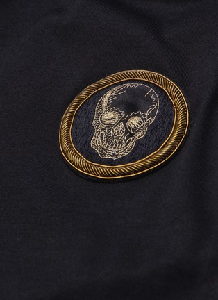 - ALEXANDER MCQUEEN - Skull badge polo shirt