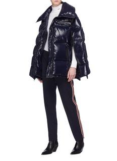 CALVIN KLEIN 205W39NYC Zip outseam oversized down puffer jacket