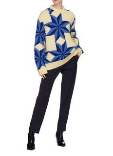 CALVIN KLEIN 205W39NYC Star intarsia wool sweater