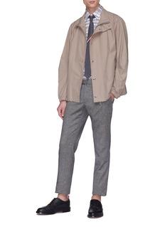 Thom Browne Stripe reflective jacket