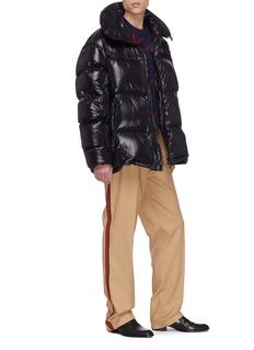 CALVIN KLEIN 205W39NYC Zip sleeve oversized down puffer jacket