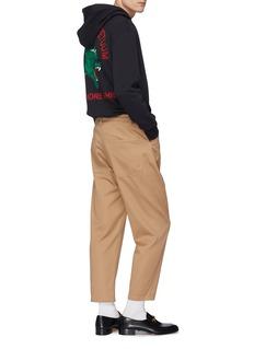 Gucci 'Privilegium Perpetuum' panther print zip hoodie