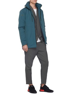 Dyne 'Boone' contrast cuff Schoeller® soft blazer