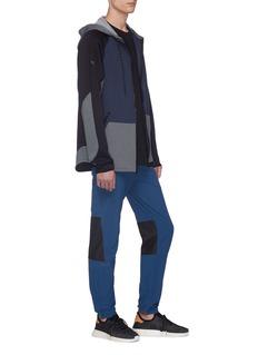 Dyne 'Renzo' colourblock cropped neoprene track jacket