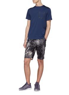 Dyne 'Pisano' tie-dye effect shorts