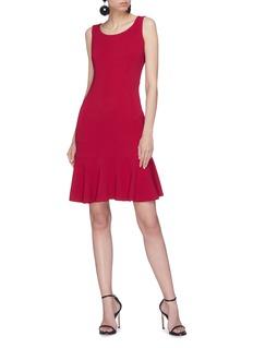 Dolce & Gabbana Peplum cady dress