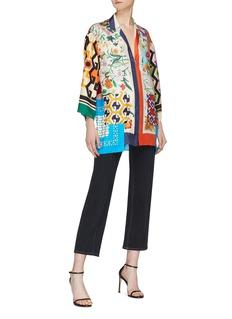 Gucci Mix print patchwork pyjama top