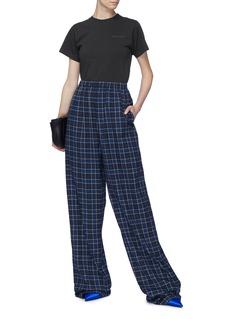 Balenciaga Check plaid flannel pyjama pants