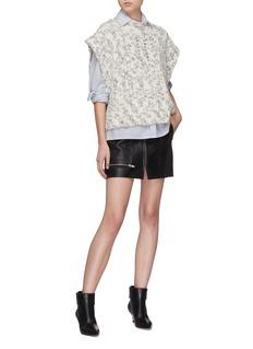 Isabel Marant 'Judlow' Merino wool turtleneck cape