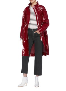 Isabel Marant 'Golky' contrast topstitching cropped jeans