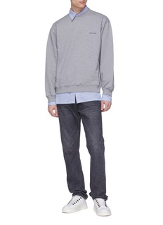 Balenciaga Logo print sweatshirt