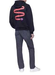 Balenciaga Graphic chart print hoodie