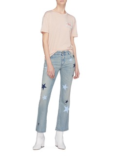 Stella McCartney Star print flared jeans