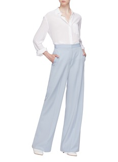Stella McCartney Pintucked wool suiting pants