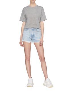 Stella McCartney Beaded fringe star T-shirt