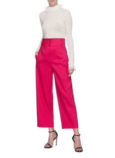 Valentino Belted wide leg pants