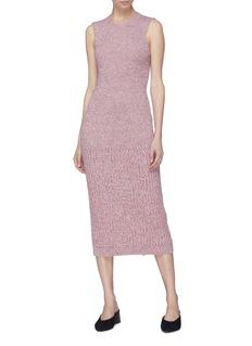 Victoria Beckham Rib knit sleeveless dress