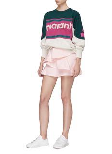 Isabel Marant Étoile 'Coati' tiered ruffle denim skirt