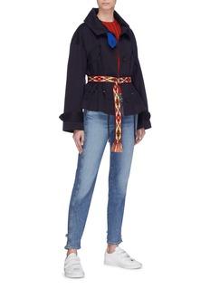 Isabel Marant Étoile 'Dagilly' flap pocket drawstring waist twill jacket