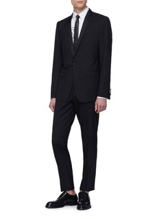 Dolce & Gabbana 'Gold' stripe trim slim fit tuxedo suit