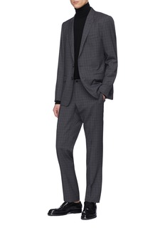 Dolce & Gabbana 'Martini' check plaid virgin wool suit