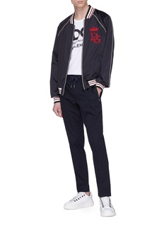 Dolce & Gabbana Pintucked jogging pants